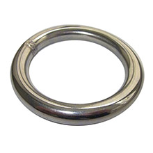 RONSTAN Welded ring - 4mm(5/32 inch ) thickness - 38mm(1-1/2 inch ) id