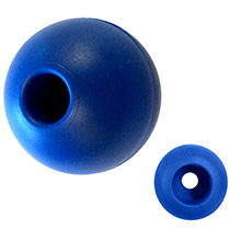 RONSTAN Parrel bead - 25mm(1 inch ) od - blue - (single)