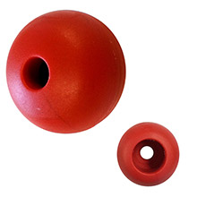 RONSTAN Parrel bead - 25mm(1 inch ) od - red - (single)