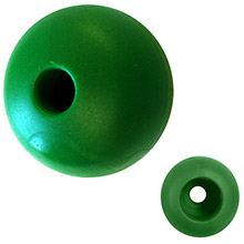 Ronstan Parrel bead - 20mm(3/4 inch ) od - green - (single)