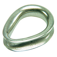 Ronstan Sailmaker stainless steel thimble  - 3mm(1/8 inch ) cable diameter