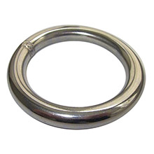 RONSTAN Welded ring - 6mm(1/4 inch ) x 25mm(1 inch ) id