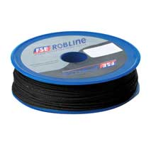 FSE Robline Waxed tackle yarn whipping twine - black - 0.8mm x 80m