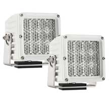 RI Rigid Ind M-d2 dually xl series - spector - diffused - pair - white