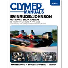 Clymer Evinrude/johnson 85-300 hp two-stroke outboards (includes jet drive models) 1995-2006