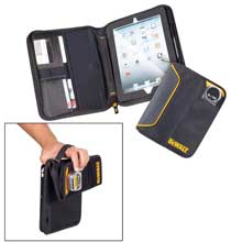 CLC WORK GEAR Dewalt contractorfts ipad holder