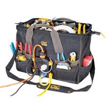 CLC Work Gear Tech gear power distribution tool bag - 18inch
