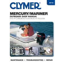 CLYMER Mercury/mariner 4-90 hp four stroke outboards - 1995-2006