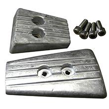 20804Mg Tecnoseal Anode Kit Merc Bravo 2 3 W// Hardware Magnesium Poly
