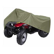DALLAS MFG CO. Atv cover - 150d polyester - water repellent - olive drab