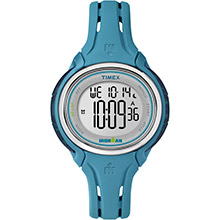 TIMEX Ironman sleek 50-lap mid-size watch - turquoise