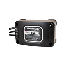 MOTORGUIDE MotorGuide 5/3 8 Amp Dual Bank Battery Charger