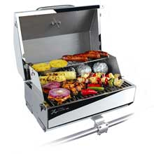 KUUMA PRODUCTS 216 elite gas grill 216inch cooking surface stainless