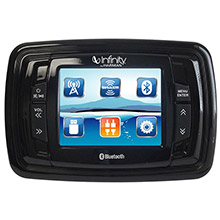 Infinity PRV350 3.5inch   Color TFT Screen - 4x50 AM/FM/BT/USB/AUX in/3 x PRE-OUTS/SiriusXM-Ready Stereo