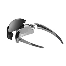 TIFOSI OPTICS Escalate h.s. fototec sunglasses - silver/gunmetal
