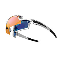 Tifosi Optics Escalate f.h. sunglasses - silver/black