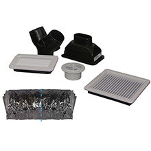 WEBASTO Fresh air duct kit f/fcf5000 fcf9000
