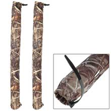 C.E. SMITH Post guide-on pad - 36inch - camo wet lands