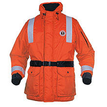 Mustang Survival ThermoSystem Plus Coat - SM - Orange/Black