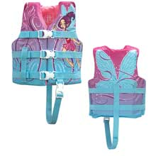 FULL THROTTLE Character life vest - child 30-50lbs - pixie