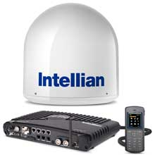 INTELLIAN Fb250 antenna system w and matching i2 dome
