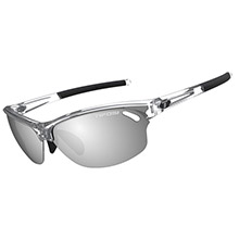TIFOSI OPTICS Wasp smoke/ac red /clear lens sunglasses - crystal clear