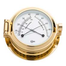 BARIGO Comfortmeter 3.3inch dial brass housing