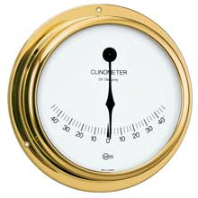 BARIGO Clinometer 5inch dial brass housing viking series