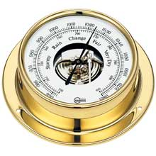 BARIGO Barometer 3.3inch dial brass housing tempo series