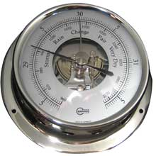 BARIGO Barometer 3.3inch dial stainless housing sky series