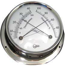 BARIGO Comfortmeter 3.3inch dial stainless housing