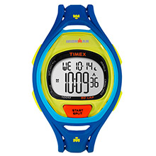 Timex Ironman sleek 50 full-size watch - blue color block