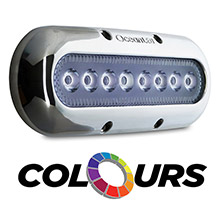 OceanLED XP8 Xtreme   Underwater Light - Unlimited Colors