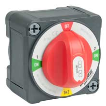 BEP Pro installer 400a ezmount battery selector 1-2-both-off