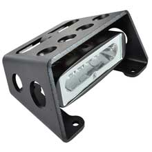 LUMITEC Diesel extreme duty led flood light - black finish - white dimming, amber flashing