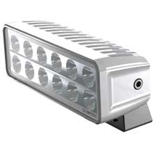 LUMITEC Maxillumeh60 trunnion mount flood light - white dimming - white housing