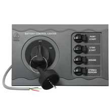 BEP Battery control center f/ twin engine remote