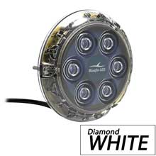 BLUEFIN Piranha p6 nitro white sm underwater light 24v