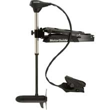 MOTORGUIDE X5-55fw foot control bow mount trolling motor - 55lb-45inch -12v