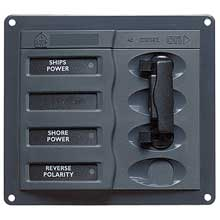 BEP Ac circuit breaker panel without meters double pole