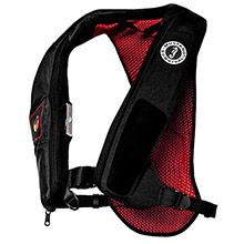 MUSTANG SURVIVAL Elite Inflatable PFD Automatic HIT Inflator - Black/Red