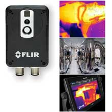 FLIR Ax8 thermal monitoring camera