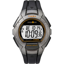 TIMEX Ironman essential 10 full-size lap - black/silver