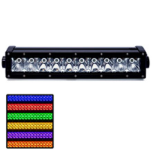 ROGUE 4 4 sigma series 10inch rgb light bar - combo beam - black