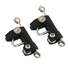 TACO METALS Standard release outrigger zip clips (pair)