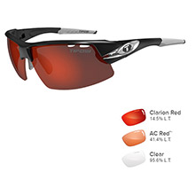 TIFOSI OPTICS Crit race silver - clarion red/ac red /clear