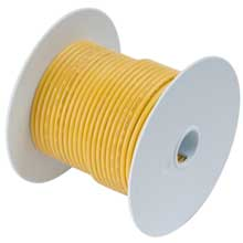Ancor Yellow 100ft 10 awg wire