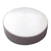 MONARCH MARINE White Flat Piling Cap - 6.5 inch