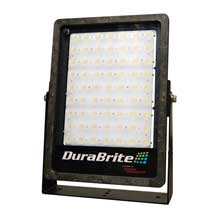 DURABRITE Slm flood light - black housing/white leds - 270w - 48v - 35,000 lumens