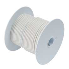Ancor White 25ft 8 awg wire